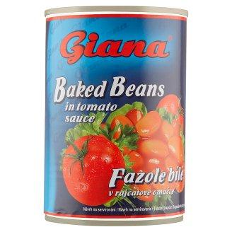 Giana Fazole bílé v rajčatové omáčce 420g