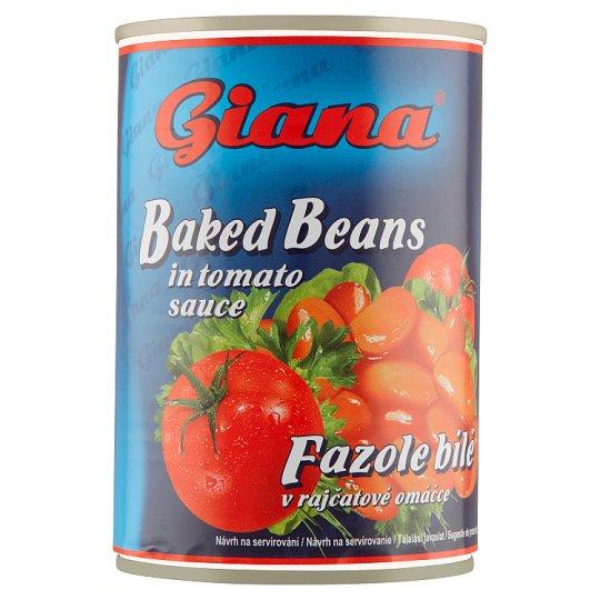 Giana White Beans in Tomato Sauce 420g
