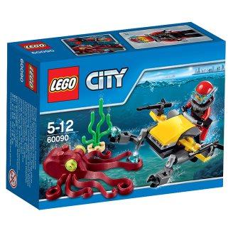 LEGO City Potápěčský hlubinný skútr 60090