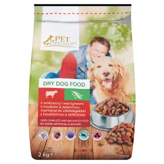 Tesco Pet Specialist Dry Dog Food with Beef and Vegetables 2kg