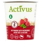 Activus Instant Oat Porridge with Raspberries 70g