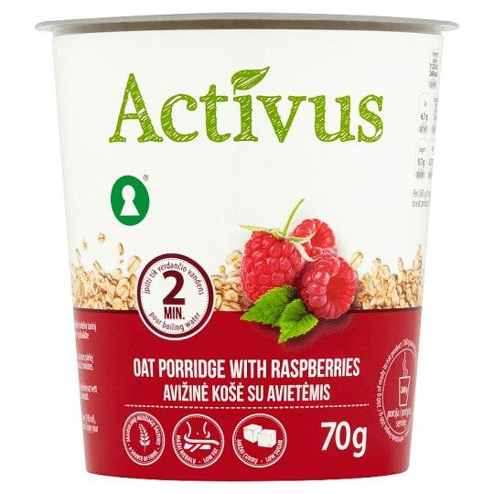 Activus Instantní ovesná kaše s malinami 70g