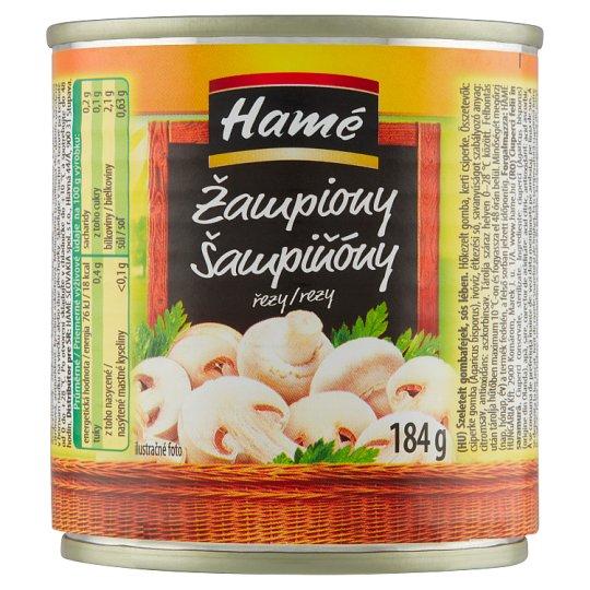 Hamé Mushrooms Slices Slightly in Brine 184g