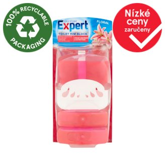 Go for Expert Floral tekutý WC blok 3 x 55ml