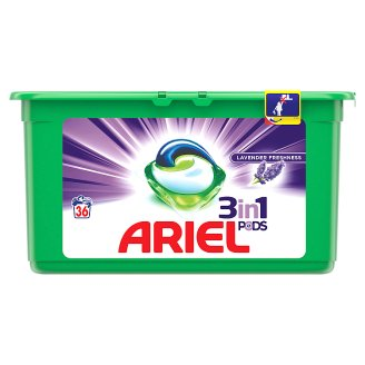 Ariel Lavender Kapsle Na Praní Prádla 3v1 36Praní