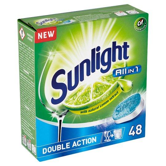 Sunlight All in 1 Tablety do myčky nádobí 48 ks 840g