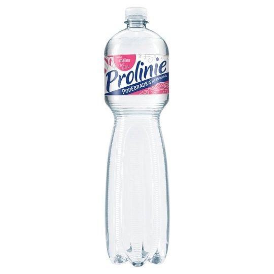 Poděbradka ProLinie Jemně perlivá malina 1,5l