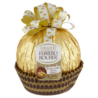 Ferrero Rocher Grand Milk Chocolate Figure and Crispy Waffle with Hazelnut Cream Filling 240g