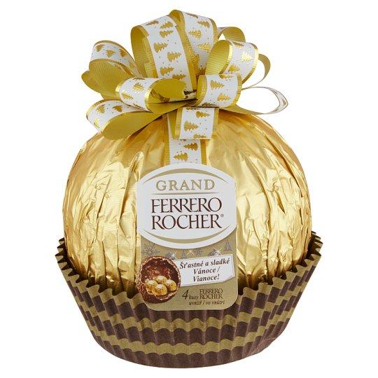 Ferrero Rocher Grand Milk Chocolate Figure and Crispy Waffle with Hazelnut Cream Filling 240g