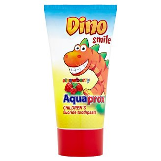 Dino Smile Aquaprox Children's Toothpaste with Fluorine and Strawberry Flavor 60g