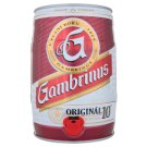 Gambrinus Originál 10 pivo výčepní světlé soudek 5l