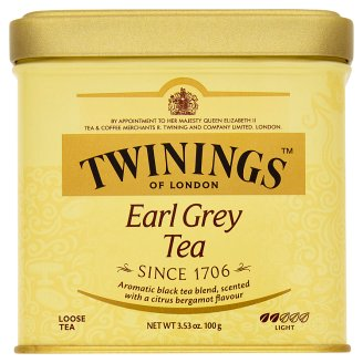 Twinings Earl Grey černý čaj aromatizovaný 100g