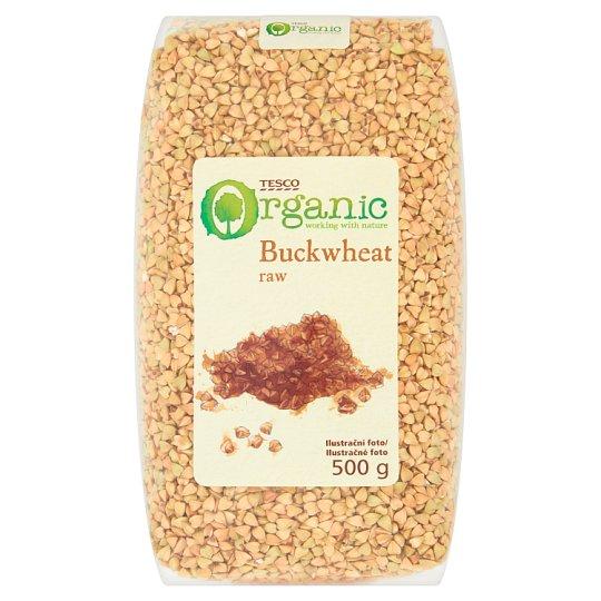 Tesco Organic Raw Buckwheat 500g