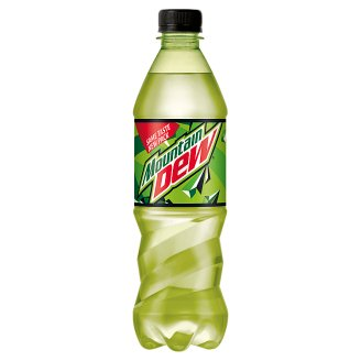 Mountain Dew Soft Drink Flavored with Citrus Fruits 0.5L