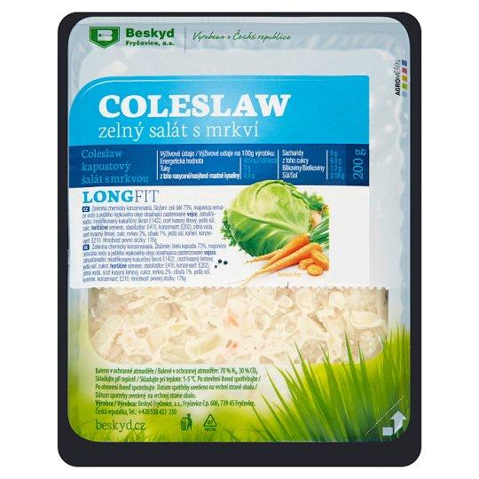 Beskyd Long Fit Coleslaw zelný salát s mrkví 200g