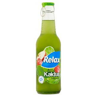 Relax Kaktus, jablko, limetka 250ml