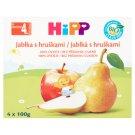 HiPP Bio ovocný příkrm jablka s hruškami 4 x 100g