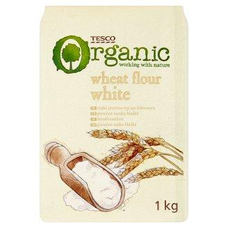 Tesco Organic Wheat Flour White 1kg