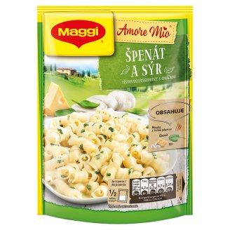MAGGI Amore Mio Špenát a sýr Těstoviny s omáčkou sáček 152g