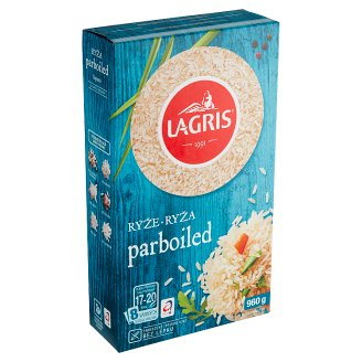 Lagris Parboiled Rice 8 Boiling Bags 960g