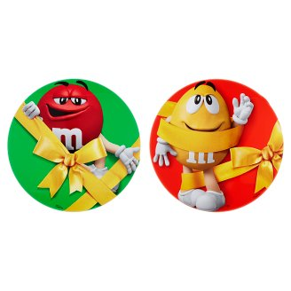 M&M's Dragee Stuffed with Roasted Peanuts in Milk Chocolate and Sugar Topping 330g