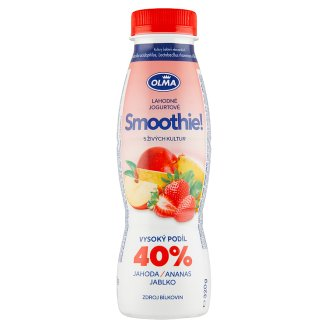 Olma Smoothie! Strawberry Pineapple Apple 320g