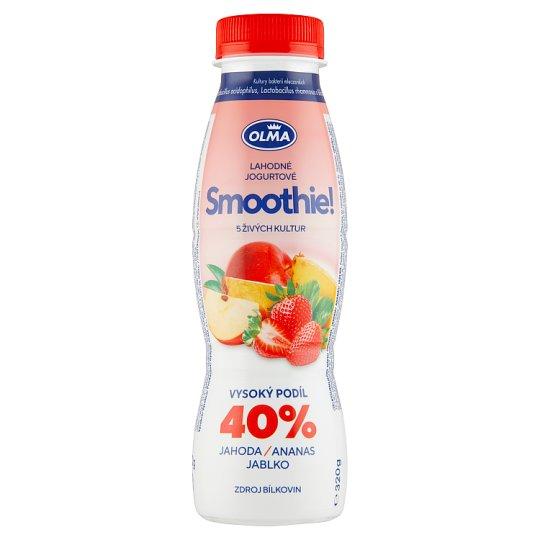 Olma Smoothie! Strawberry Pineapple Apple 320g