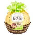Ferrero Rocher Grand oplatky s polevou z mléčné čokolády a dutá figurka 125g