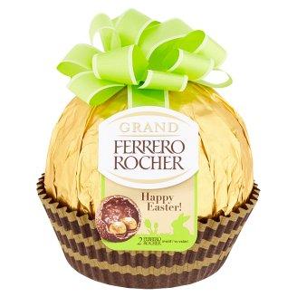 Ferrero Rocher Grand Milk Chocolate Figure and Crispy Waffle with Hazelnut Cream Filling 125g