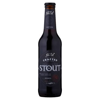 Tesco Finest Unfiltered Stout 330ml