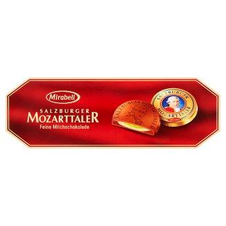 Mirabell Bonbony z mléčné čokolády plněné nugátovým krémem a marcipánovou náplní 100g