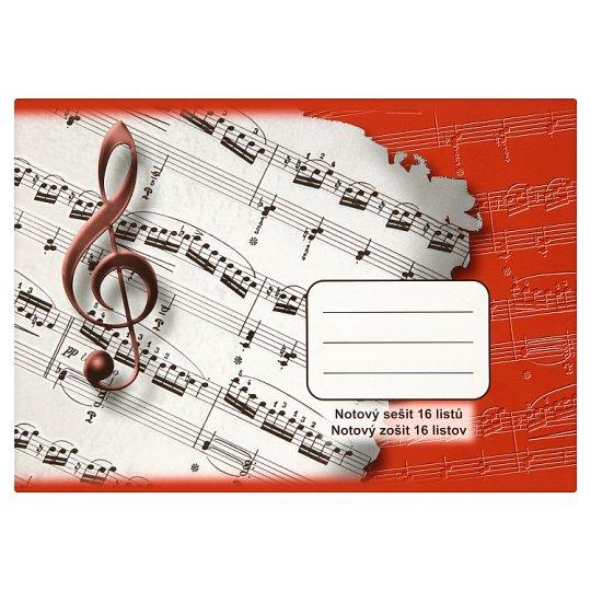 Krpa Music Notebook ML-2 16 Sheets