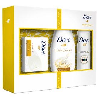 Dove Elegant Beauty střední vánoční dárková kazeta pro ženy