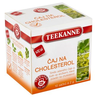 teekanne tea on cholesterol 10 bags 20g tesco groceries. Black Bedroom Furniture Sets. Home Design Ideas