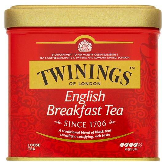 Twinings English Breakfast černý čaj 100g