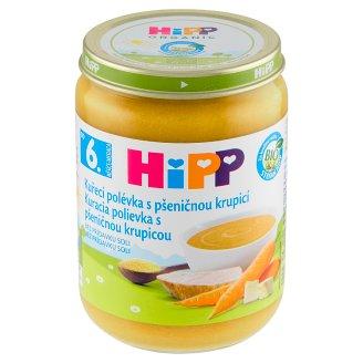 HiPP Bio kuřecí polévka s pšeničnou krupicí 190g