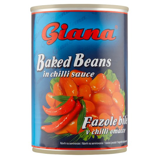 Giana White Beans in Chilli Sauce 410g