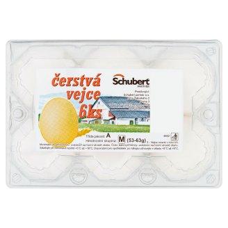 Schubert Čerstvá vejce 6 ks