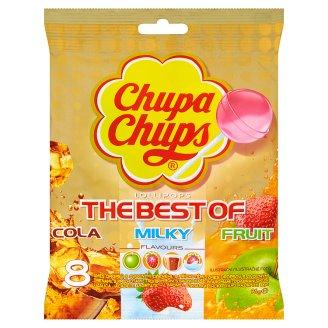 Chupa Chups Směs dropsů s ovocnými dřeněmi 8 x 12g