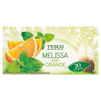 Tesco Ovocný čaj s meduňkou a pomerančovou kůrou 20 x 1,5g