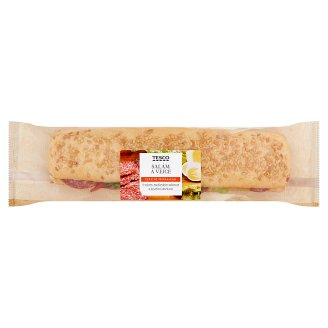 Tesco Baguette Salami and Eggs 202g