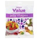 Tesco Value Jelly shapes cukrovinky želé s ovocnými příchutěmi 500g