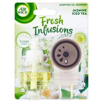 Air Wick Fresh Infusions Elektrický osvěžovač vzduchu - strojek a náplň jasmínový ledový čaj 19ml