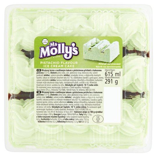 Ms Molly's Mražený krém s pistáciovou příchutí a kakaovou polevou 615ml