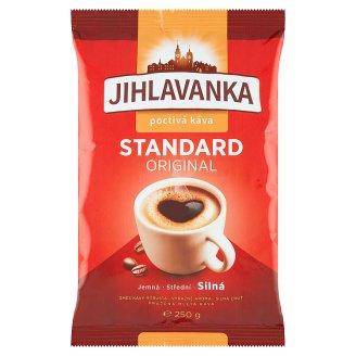 Jihlavanka Standard original pražená mletá káva 250g
