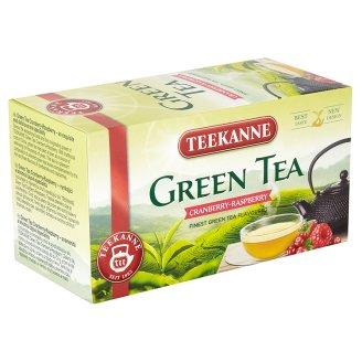 TEEKANNE Cranberry-Raspberry, zelený čaj, 20 sáčků, 35g