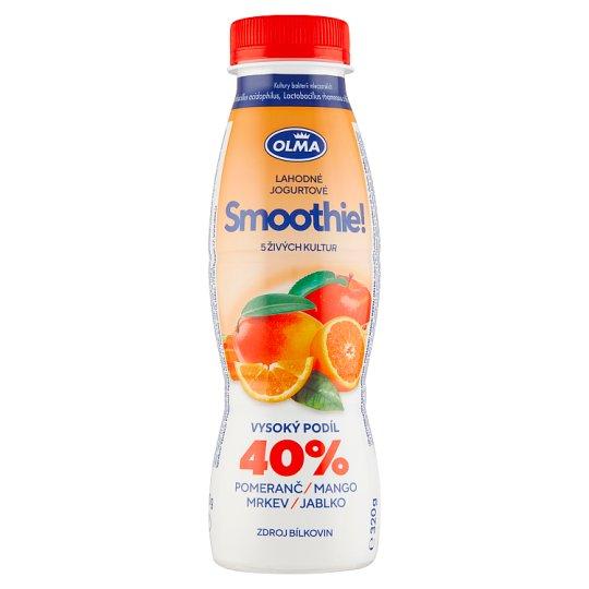 Olma Smoothie! pomeranč mango mrkev jablko 320g