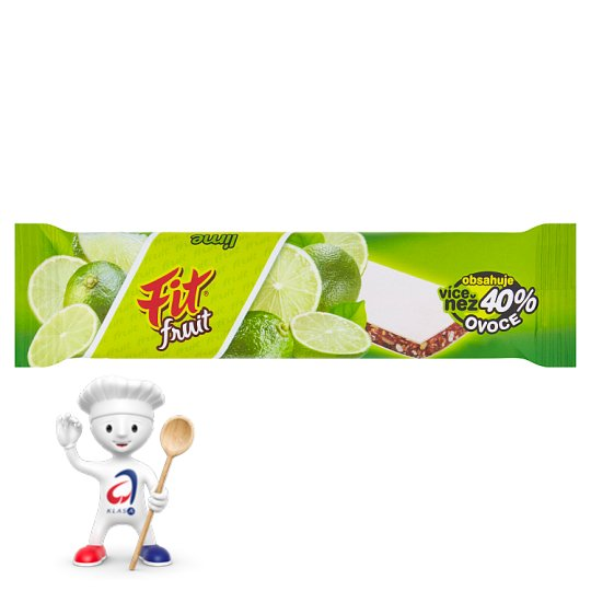 Fit Fruit Muesli Bar with Lime Cubes 23g