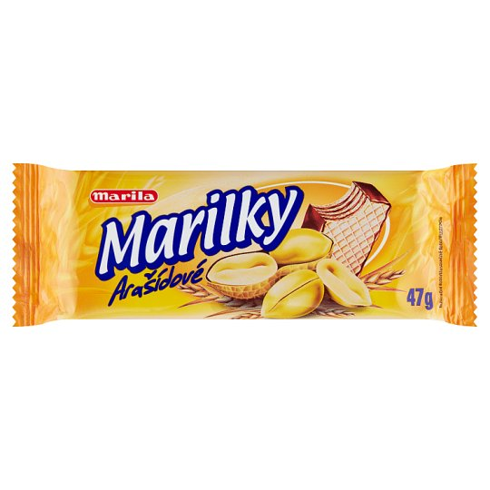 Marila Marilky Wafer with Peanut Filling 47g