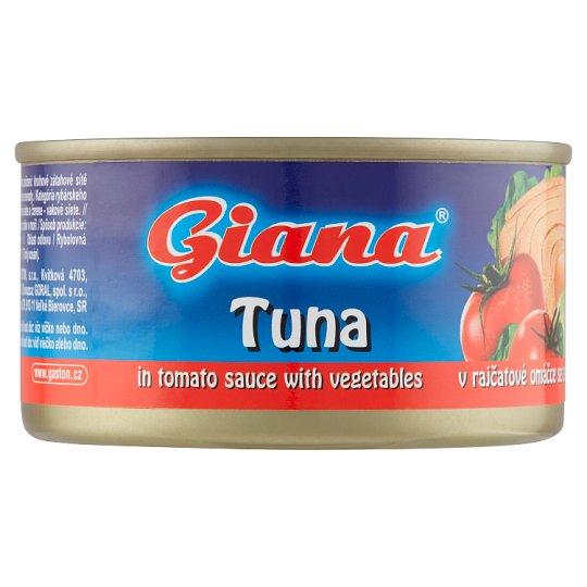 Giana Hotový pokrm s tuňákem a zeleninou v rajčatové omáčce 185g
